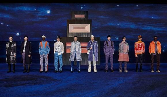 2021-2022冬季男裝系列時裝秀