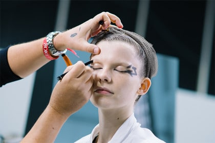 Make-up from the Ready-to-Wear show