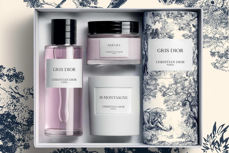 Dior - BLAUES GRIS DIOR TOILE DE JOUY GESCHENKSET aria_openGallery