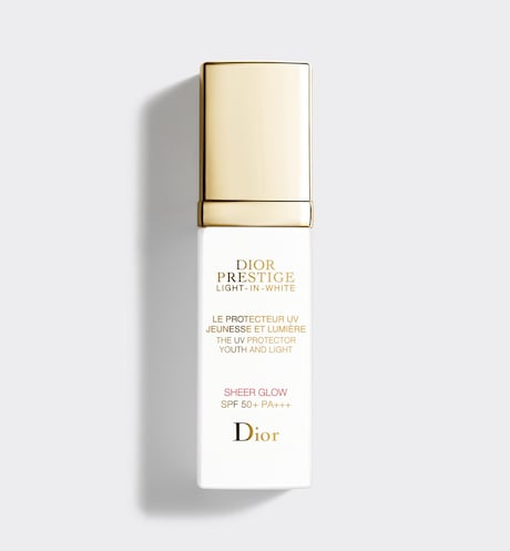 Dior - Dior Prestige Light-in-White The UV Protector Youth And Light - Sheer Glow SPF 50+ PA+++