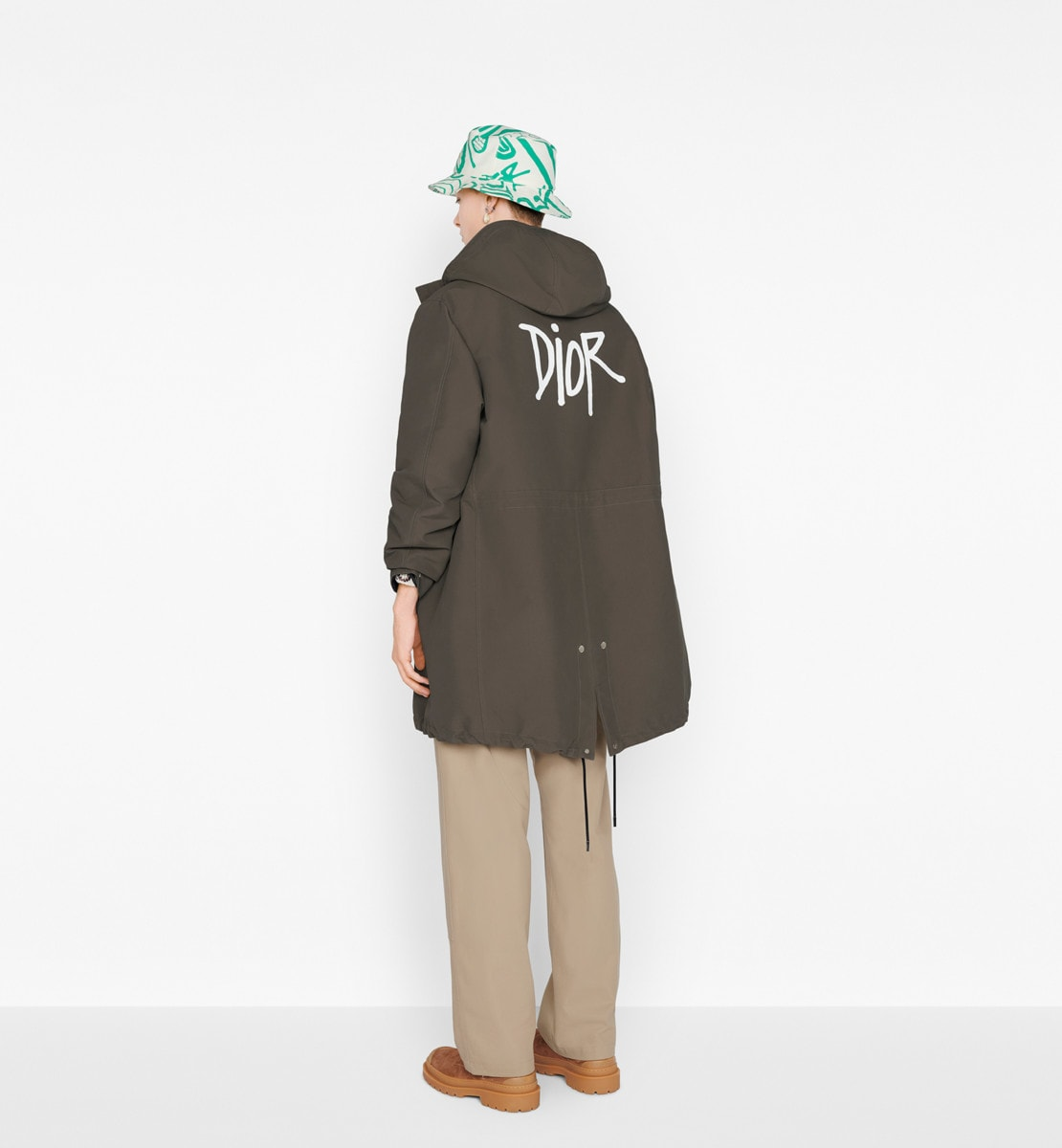 DIOR AND SHAWN Hooded Parka