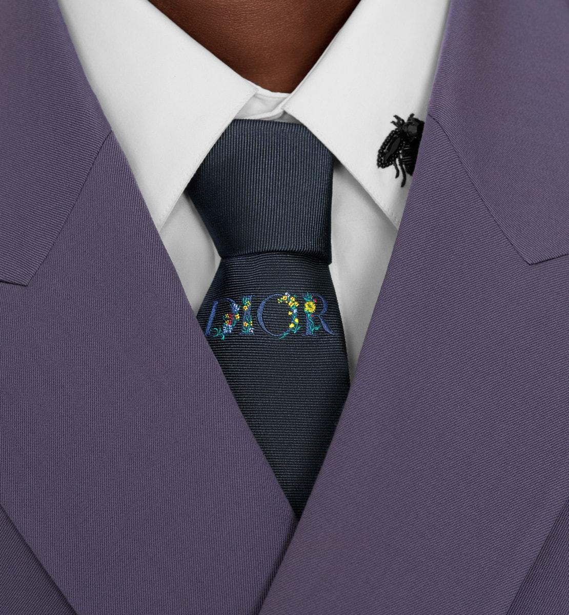 Dior Fleurs Tie