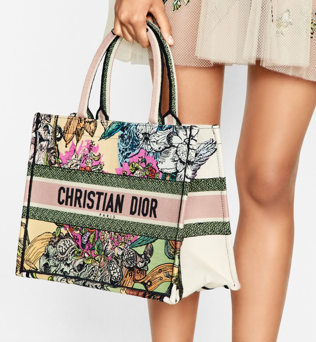 Small Dior Book Tote